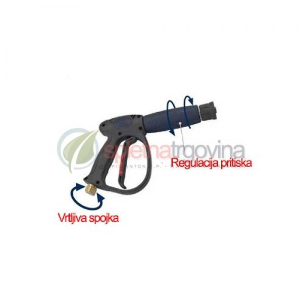 Visokotlačna pištola z regulacijo tlaka