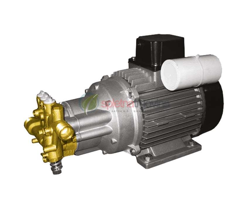 Indukcijski motor in črpalka iz medenine